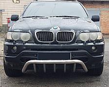 Кенгурятник Грейдер на BMW X5 (e 53) 2000--2007