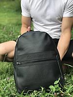 Качественный кожаный рюкзак для школы и спорта, Calvin Klein, фото 1