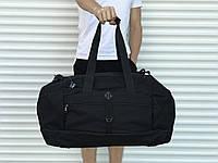 Велика дорожня сумка, чорна (60 л.), фото 1