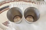 Два винних олов'яних келиха, харчове олово, Німеччина, мисливські мотиви, 280 мл, фото 7