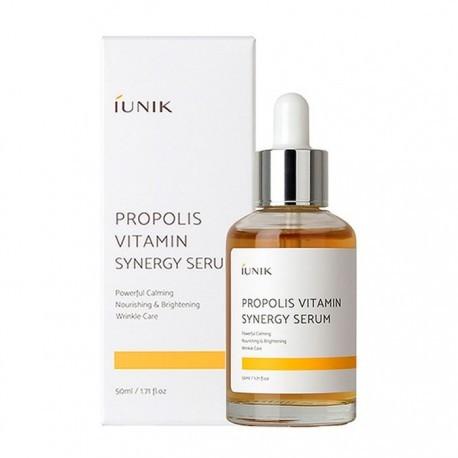 Синергетична сироватка з прополісом та вітаміном С Iunik Propolis Vitamin Synergy Serum 50 ml