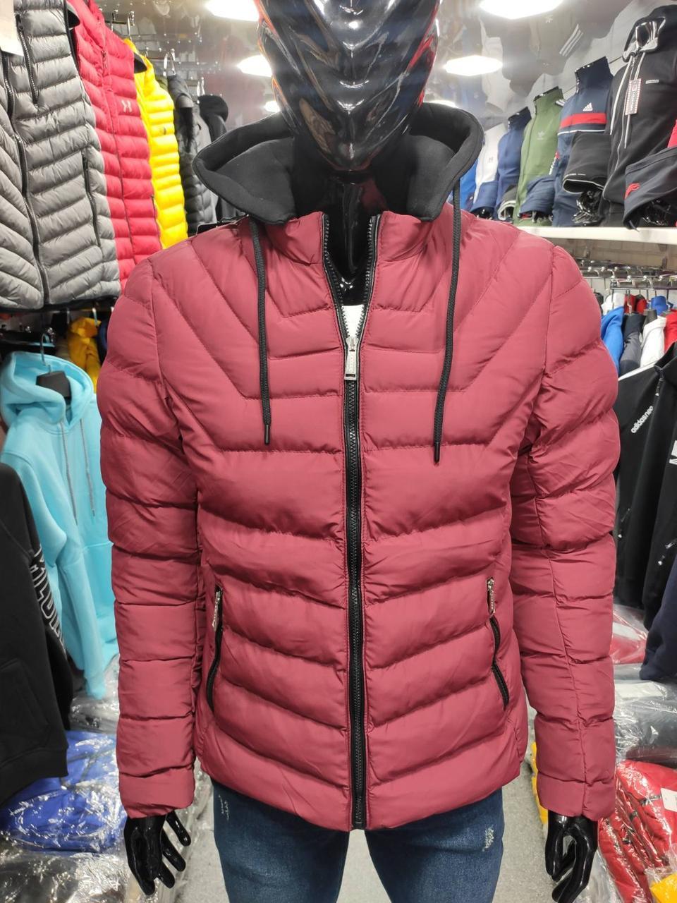 Куртка еврозима мужская холлофайбер Турция S-2XL демисезон