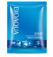 Маска для обличчя тканинна BIOAQUA ICE FOUNTAIN WHITENING MASK охолоджуюча 30 гр