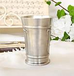 Коллекционный оловянный бокал, пищевое олово, Германия, гербовая символика, 300 мл, фото 2