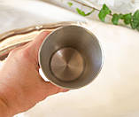 Коллекционный оловянный бокал, пищевое олово, Германия, гербовая символика, 300 мл, фото 7