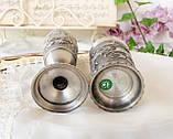 Два колекційних олов'яних келиха, харчове олово, Німеччина, королівське полювання, фото 6