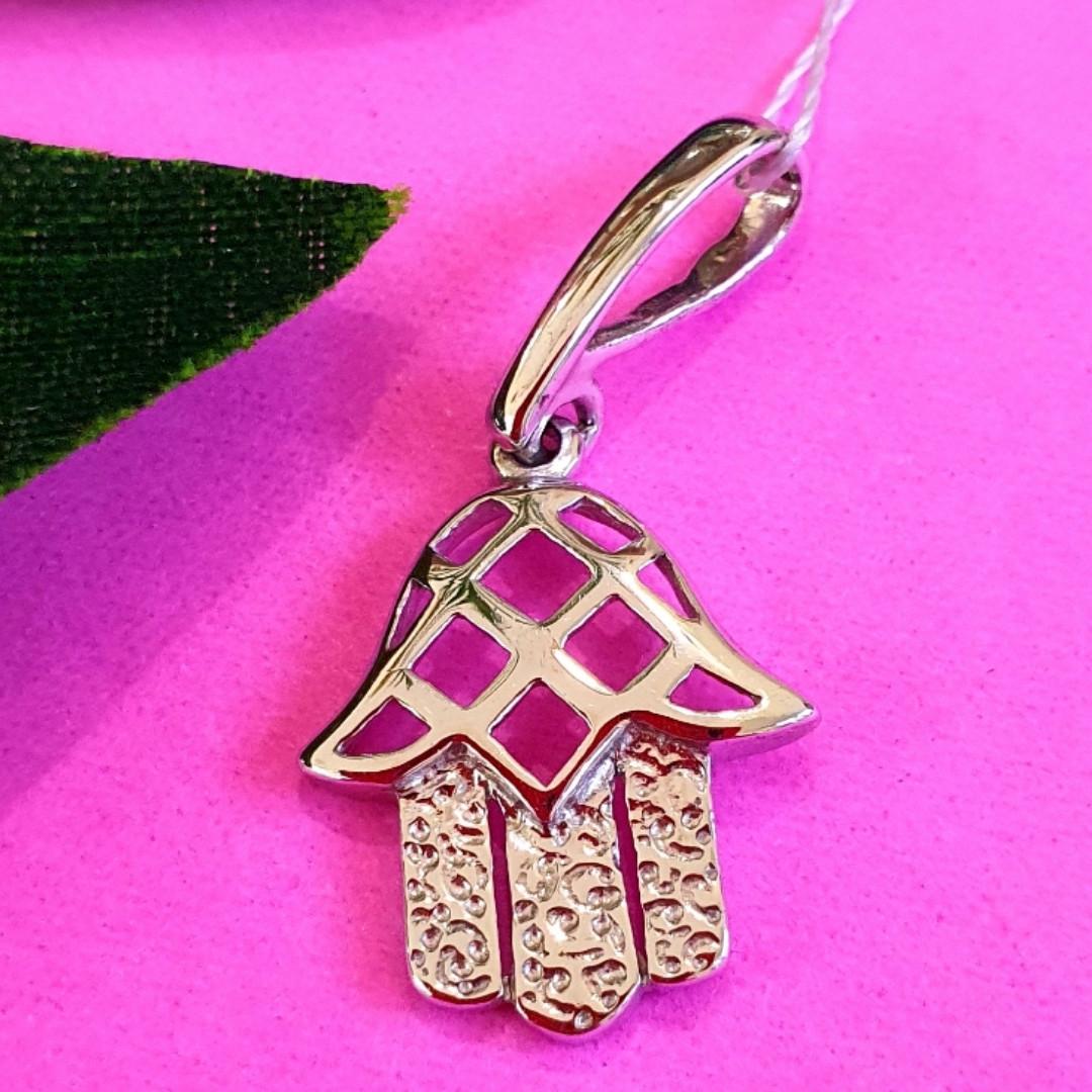 Серебряный кулон Хамса - Подвеска Хамса из серебра