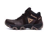 Мужские зимние кожаные ботинки Crossfit Brown р. 40 41 42 43 44, фото 1