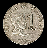 Монета Филиппин 1 песо 1993 г. Хосе Рисаль
