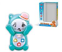 """Детский телефон """"Котик"""" Телефон 7828 Play Smart развивающая игрушка русское озвучивание (2 вида)"""