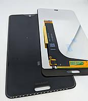 Дисплейный модуль Sharp aquos s2 s3mini C10 Black (Тачскрин+дисплей)