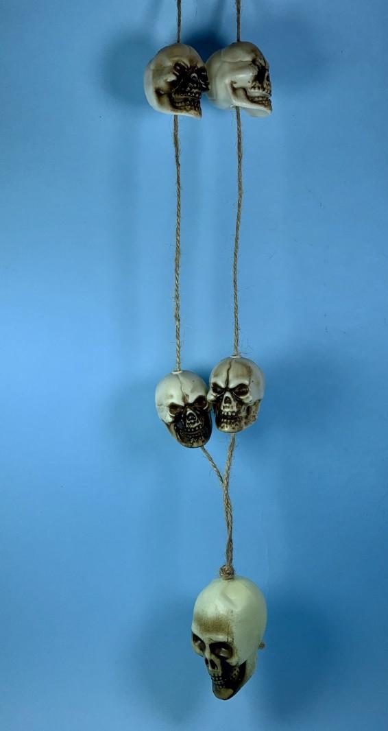 Декор Черепа подвеска на Хэллоуин Halloween