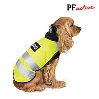 Жилет Pet Fashion Warm Yellow Vest (жилет+флис); S, фото 1