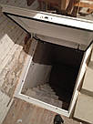 Стальной люк в подвал 600/700 мм / напольный люк в погреб, фото 3