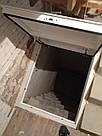 Стальной люк в подвал 1000/1000 мм / напольный люк в погреб, фото 3