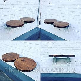 Навесные столики для кафе