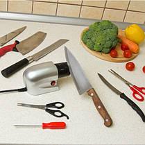 Электрическая точилка для ножей и ножниц Sharpener  (RZ501), фото 3