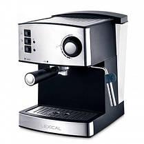 Кофемашина с капучинатором LEXICAL LEM-0602 850W  (RZ532), фото 2