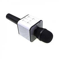 Беспроводной микрофон караоке Tuxun bluetooth чёрный Q7 MS  (RZ552), фото 2