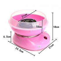 Аппарат для приготовления сладкой ваты Cotton Candy Maker маленький  (RZ573), фото 3