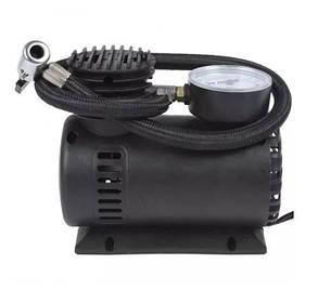 Автомобильный компрессор авто насос от прикуривателя 12в 250 PSI Air Compressor черный  (RZ580), фото 2