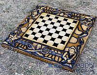 Нарди, шахи, шашки ручної роботи ПІРАТИ-2 (70х70 див)