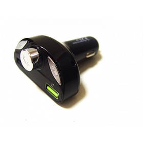Автомобильный FM Трансмиттер H28BT модулятор с Bluetooth черный (RZ270)