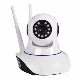 Беспроводная поворотная IP-камера видеонаблюдения Wi-Fi Smart Net Camera Q5 с датчиком движения и ночным
