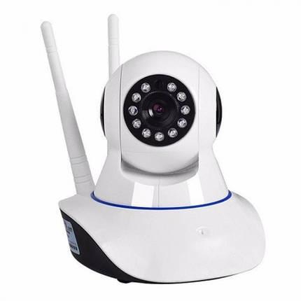 Беспроводная поворотная IP-камера видеонаблюдения Wi-Fi Smart Net Camera Q5 с датчиком движения и ночным, фото 2