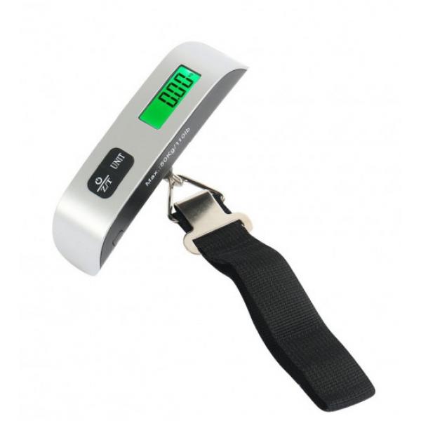 Электронные весы багажные дорожные портативные кантер Digital до 50 кг  (RZ648)
