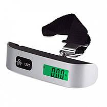 Электронные весы багажные дорожные портативные кантер Digital до 50 кг  (RZ648), фото 2