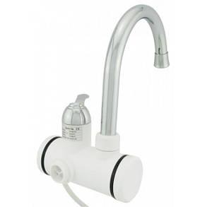 Проточный кран-водонагреватель Delimano для умывальника или кухни c LCD экраном с боковым подключением , фото 2