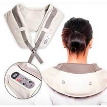 Ударный массажер для шеи и плеч Cervical Massage Shawls  (RZ671), фото 3