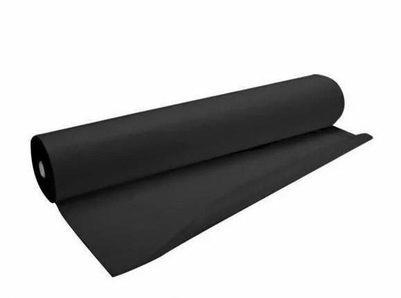Одноразовые простыни в рулоне К_ТЕКС Черные 20г/м² 0.8*100 м