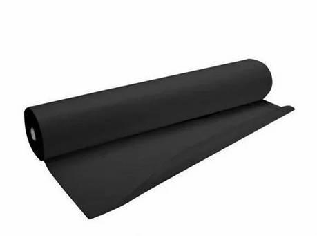 Одноразовые простыни в рулоне К_ТЕКС Черные 20г/м² 0.8*100 м, фото 2