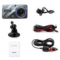 Видеорегистратор для автомобиля Dual Lens BlackBox  (RZ303), фото 2