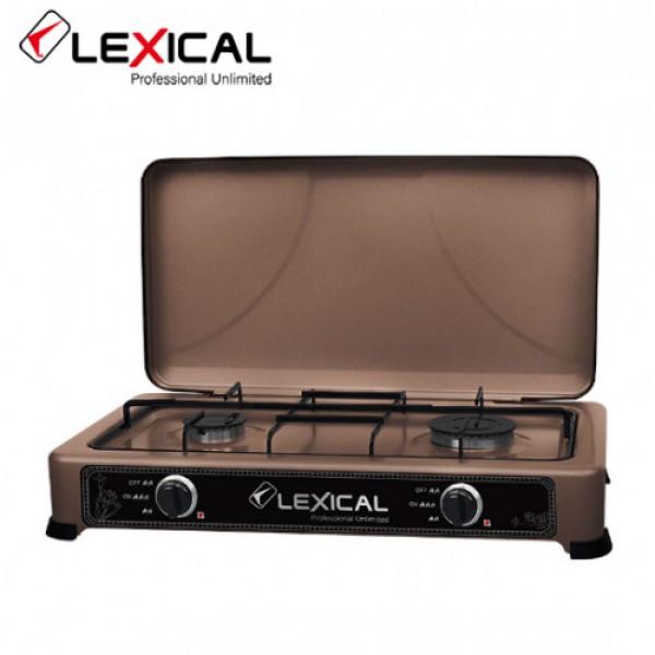 Газовая плита LEXICAL LGS-2812-5 настольная на 2 конфорки  (RZ711)