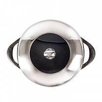 Набор кастрюль с крышками с мраморным антипригарным покрытием Lexical LG-141001-2 CHOCO 10 предметов  (RZ730), фото 3