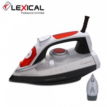 Паровой утюг LEXICAL LSI-1009 с керамической подошвой 2200W, Вертикальное отпаривание  (RZ743), фото 2