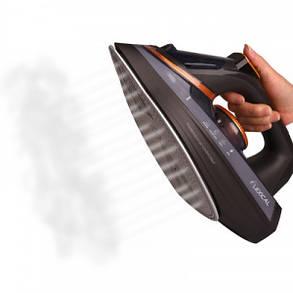Паровой утюг LEXICAL LSI-1009 с керамической подошвой 2200W, Вертикальное отпаривание Black  (RZ744), фото 2