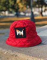Зимняя панама мужская теплая на флисе H&H Puma красная Турция. 4 цвета, фото 1