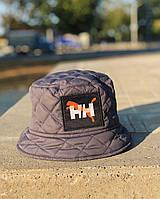 Зимняя панама мужская теплая на флисе H&H Puma серая Турция. 4 цвета, фото 1