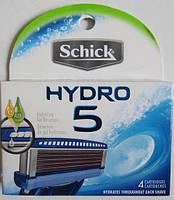 Лезвия Schick Hydro 5, 4 штуки в упаковке, из США