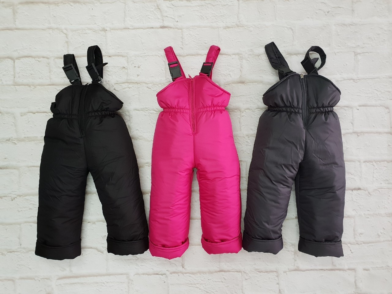 Зимний детский полукомбинезон, штаны
