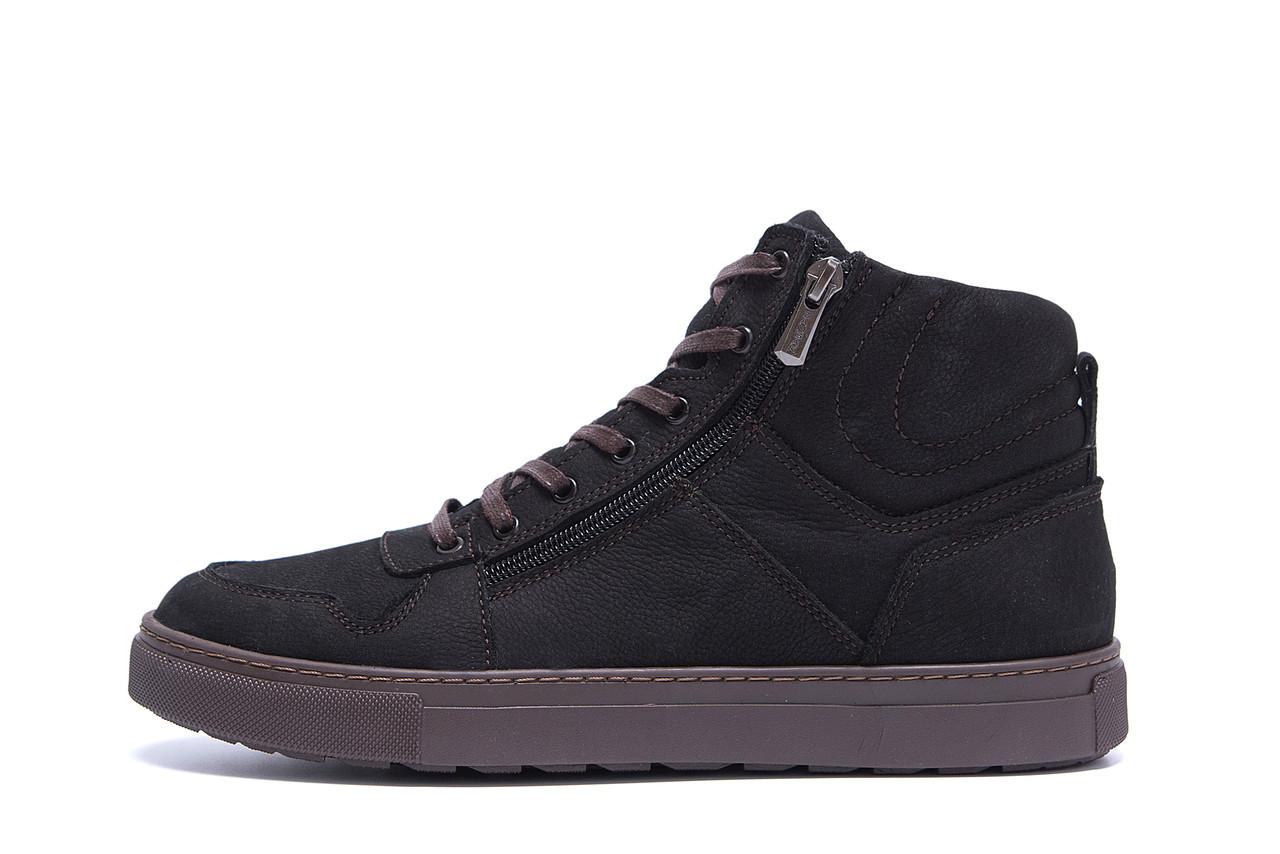 Мужские зимние кожаные ботинки ZG Black Exclusive New р. 40 41 44 45
