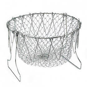 Складная решетка дуршлаг Magic Kitchen Chef Basket  (RZ786)