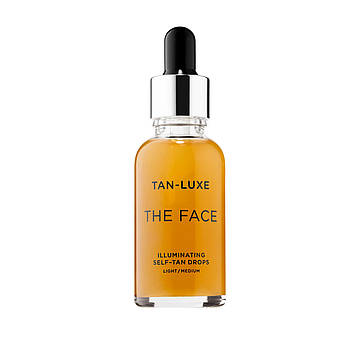 Капли для автозагара лица Tan-Luxe The Face Illuminating Self-Tan Drops Light/Medium 30 мл