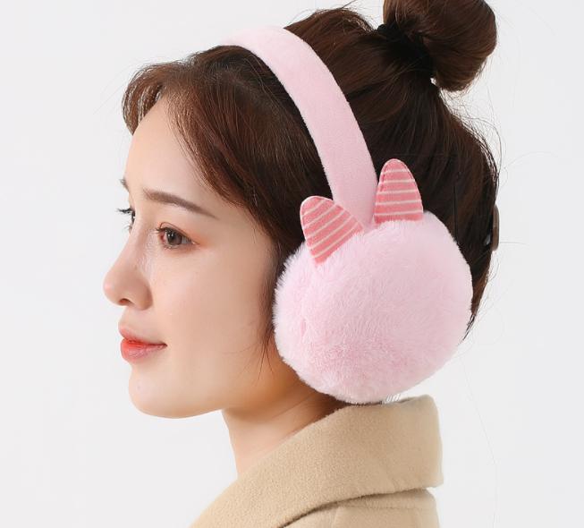 Хутряні навушники Meushki