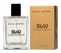 Нишевый мужской одеколон Acca Kappa 1869 100 мл