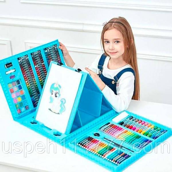 Детский набор для рисования и творчества 208 предметов